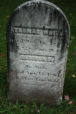 Rebecca D <i>Metcalf</i> White