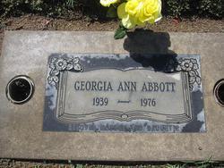 Georgia Ann <i>Roberts</i> Abbott