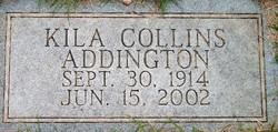 Kila B <i>Collins</i> Addington