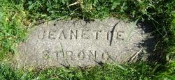 Jeanette Elizabeth <i>Stowe</i> Strong
