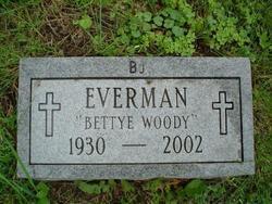 Bettye <i>Woody</i> Everman