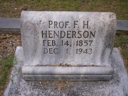 F. H. Henderson