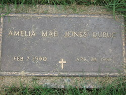 Amelia Mae <i>Jones</i> Dubuc