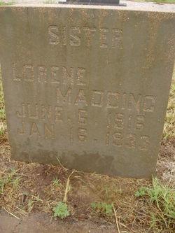 Annie Lorene Madding