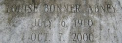 Virginia Louise <i>Bonner</i> Abney