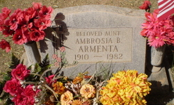 Ambrosia <i>Baldenegro</i> Armenta