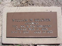 PFC William M Belcher
