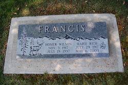 Marie <i>Rich</i> Francis