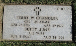 Perry Willis Buster Chandler