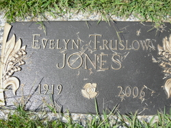 Evelyn Musetta <i>Truslow</i> Jones