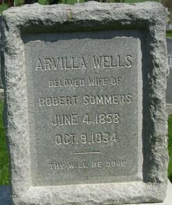 Arvilla <i>Wells</i> Sommers