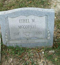 Ethel M <i>Schoening</i> McCorkle