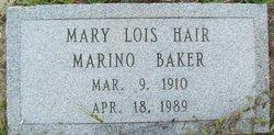 Mary Lois <i>Hair</i> Baker