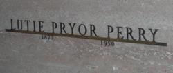 Nannie Lewette Lutie <i>Pryor</i> Perry