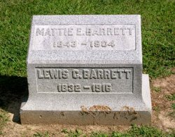 Mattie E <i>Richards</i> Barrett