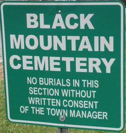 Black Mountain City Cemetery