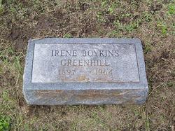 Irene <i>Boykins</i> Greenhill