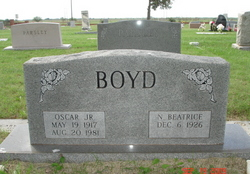 Nannie Beatrice <i>Goldsmith</i> Boyd