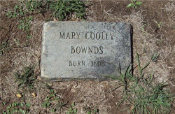Mary Sophronia Polly <i>Cooley</i> Bownds