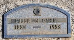 Minnie M Daniel