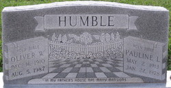 Oliver William Humble