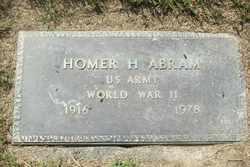 Homer Humphrey Abram