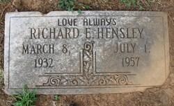 Richard Eugene Hensley