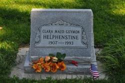 Clara Maud <i>Guymon</i> Helphenstine