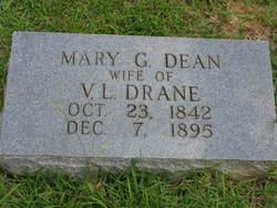 Mary G. <i>Dean</i> Drane
