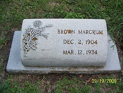 Brown Marcrum