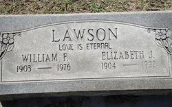 Elizabeth J Lawson