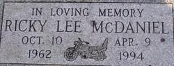 Ricky Lee McDaniel