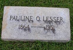 Pauline O Lesser