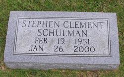 Stephen Clement Schulman