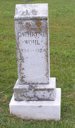 Cathryne Wohl