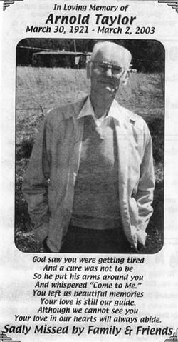 George Arnold Taylor