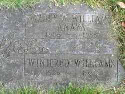 Grace April <i>Sims Williams</i> Anaya