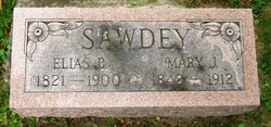 Mary J <i>Ostrand</i> Sawdey