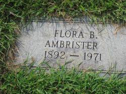 Flora B Ambrister