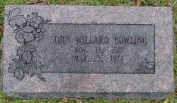 John Willard Bowling
