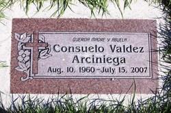 Consuelo <i>Valdez</i> Arciniega