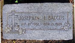 Josephine L Baccus