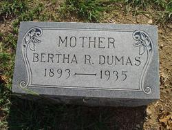 Bertha R. Dumas