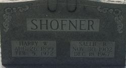 Harry W Shofner
