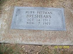 Ruby <i>Pittman</i> Breshears