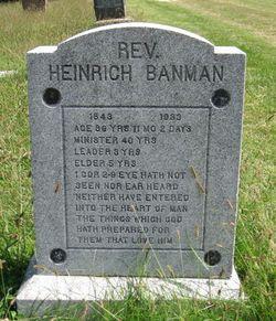 Rev Heinrich Banman