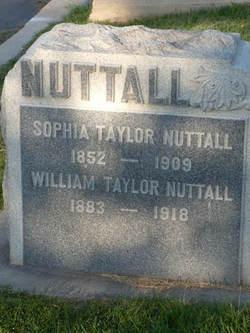 William Taylor Nuttall