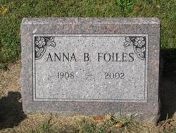 Anna B <i>Wiener</i> Foiles