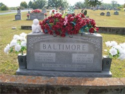 Nancy Belle Nannie <i>Gilreath</i> Baltimore
