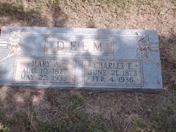 Mary A Deem